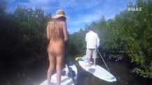 DMAX kanalında bikinili kadınlara tuhaf sansür