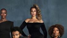 Beyonce fotoğrafa fotoşopla yapıştırılmış