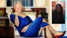 Kadın elbiseli Bill Clinton tablosunun ressamı ortaya çıktı!