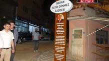 AKP'li belediye caddenin 18 yıllık ismini değiştirip Bakan Dönmez'i koydu