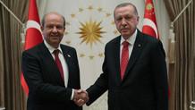 Son dakika: Erdoğan KKTC Başbakanı Tatar ortak açıklamalar yapıyor
