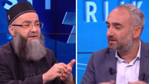 İsmail Saymaz ile Cübbeli Ahmet arasında canlı yayında tartışma çıktı