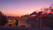 Aramco saldırısının uydu görüntüleri yayınlandı: Geliş yönü İran!