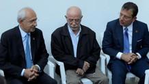 CHP'nin kurmaylarından Tuzla'da yaralan itfaiye eri Polat'a ziyaret