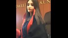 Mahkeme salonunda çekilen Tiktok videosu hakkında açıklama