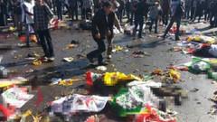 Barış mitinginde canlı bomba dehşeti! 47 ölü