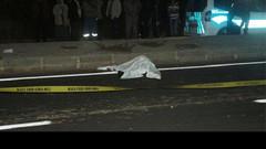 Kocasının 7 yıl önce öldüğü yerde kamyonet çarptı, öldü