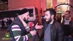 İslamcı TV muhabirini çıldırtan şüpheci genç