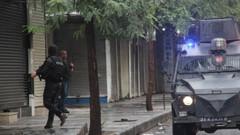 Sur'da PKK'lılarla çatışma: 1 Polis yaralı