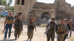 PKK'lı teröristlerin Kerkük içindeki şok görüntüleri