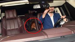 Lindsay Lohan saklandı ama kaçamadı!