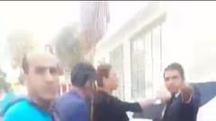 Cumhurbaşkanlığı hostesiyim dedi polise saldırdı