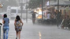 Son dakika haberleri: Meteoroloji'den İstanbul ve Ankara için yağış uyarısı