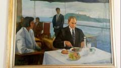 Meclis lokantasından Atatürk'ün rakılı tablosu kaldırıldı!