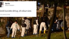 HDP'li isimden çirkin tweet: Çevik kuvvete olmuş, oh olsun size