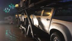 Özgür Suriye ordusuna arazi araçları gönderildi