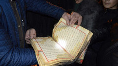 Yangında sadece Kur'an'ı kerim yanmadı