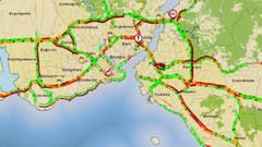 Okullar açıldı: İstanbul'da trafik felç!