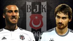 Beşiktaşlı futbolcular Cenk Tosun ve Veli Kavlak idmanda tekme tokat kavga etti