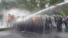 Taksim'e gitmek isteyen gruba polis müdahalesi