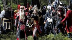 World of Warcraft hayranları bilgisayar başında değil ormanda savaştı!