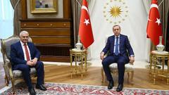 Cumhurbaşkanı Erdoğan, Yıldırım'ı kabul etti