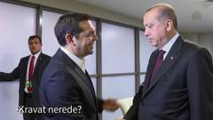 Cumhurbaşkanı Erdoğan, Tsipras'a :  Kravat nerede?