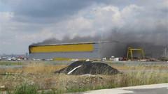 Tuzla tersaneler bölgesinde'de patlama!