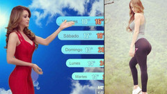 Dünyanın en güzel hava durumu sunucusu: Yanet Garcia