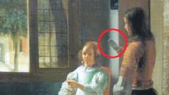 350 yıllık Rembrandt tablosunda iPhone şoku!
