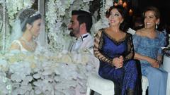 Yasemin Yalçın'ın kızı Eylül evlendi