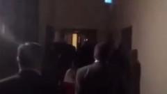 HDP'li vekiller, Biji Serok Apo sloganlarıyla TBMM'de eylem yaptı