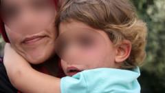 4 yaşındaki kızını dövüp çöpe attı