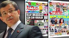Erdoğan-Davutoğlu krizi Sabah ve Takvim'e AKP toplantısını sansürletti!