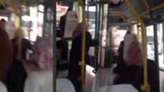 Dolmuşta kadın yolcuların Erdoğan kavgası