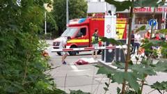 Münih'teki silahlı saldırıdan şok görüntüler