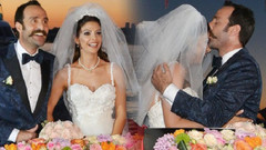Timur Acar ve Eda Özerkan evlendi!
