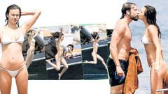 Irina Shayk ve sevgilisi Bradley Cooper'ın  romantik tatili