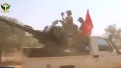 Türkmen gruplar Cerablus'a böyle girdi!