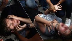 Kriz geçiren kız arkadaşının suratına şişe fırlatıp öl diye bağırdı!