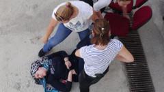 Kadın avukat gözaltına alınınca baygınlık geçirdi