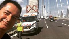 Acun Ilıcalı Yavuz Sultan Selim Köprüsü'nde selfie çekti