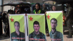 3 ABD'li YPG'li Menbic'te ölmüş!