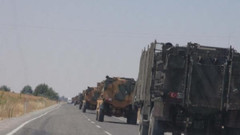 Diyarbakır'dan sevk edilen askeri araçlar Kilis'e ulaştı!