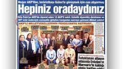 Sözcü: AKP'li 12 milletvekili dershane krizinden sonra Gülen'i ziyaret etti