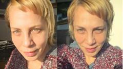 Sertab Erener'in saçlarını yaktılar