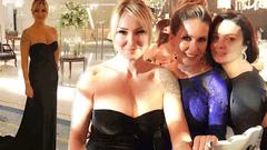 Pınar Altuğ'un elbisesi olay oldu!