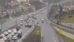 Son dakika:15 Temmuz Köprüsü'nde iki şerit trafiğe kapatıldı