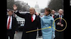 Trump'ın korumasının üçüncü kolu! Gizlediği eli nerede?
