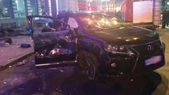Ukrayna'da araç kalabalığa daldı: 6 ölü